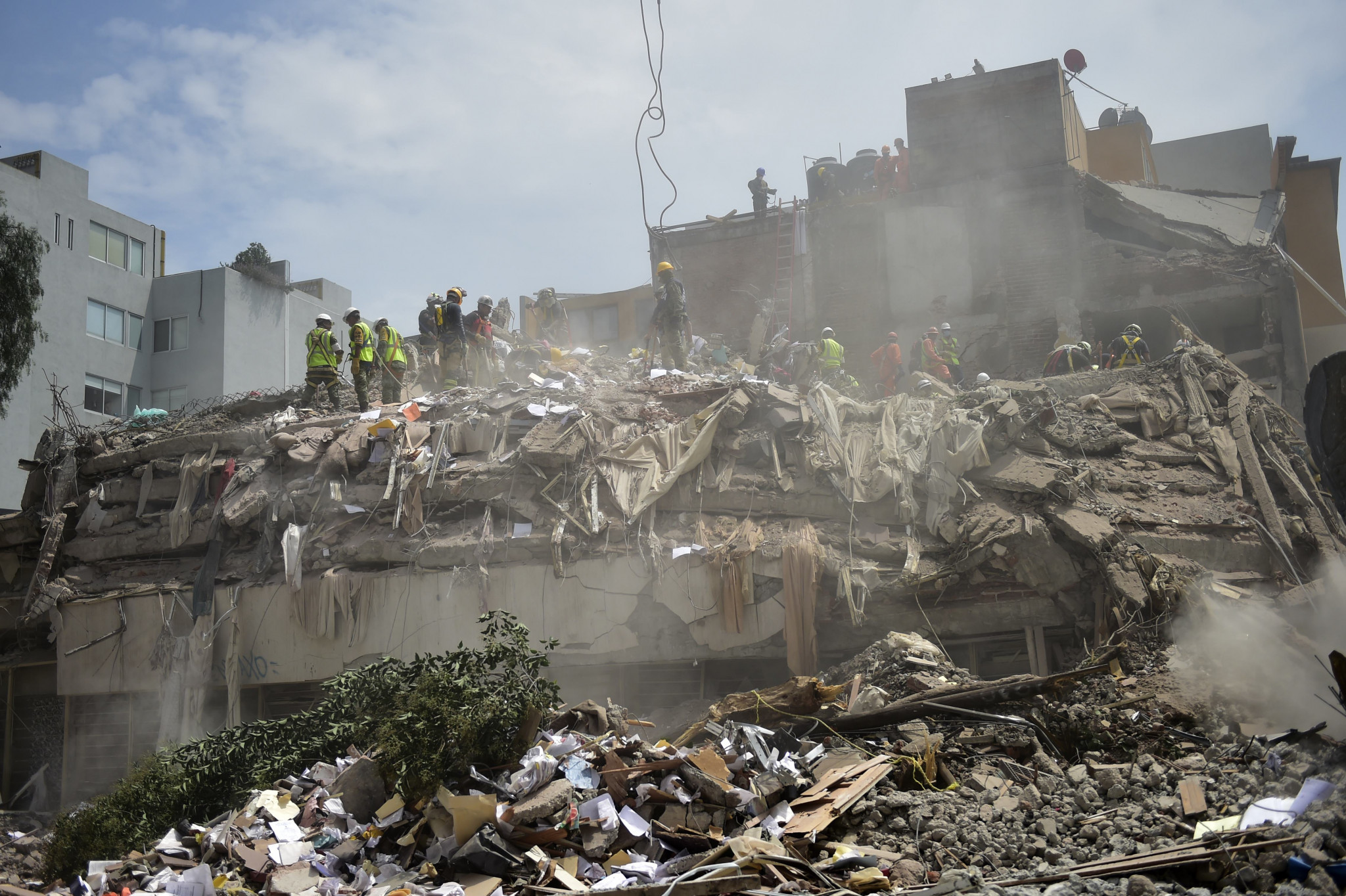 IOC and IPC join fundraising efforts for victims of Mexican earthquake