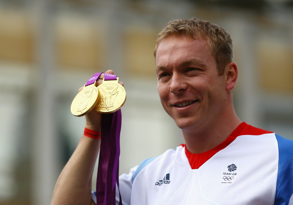 Chris Hoy will be one of the ambassadors for the UCI Track Champions League alongside Kristina Vogel ©Getty Images