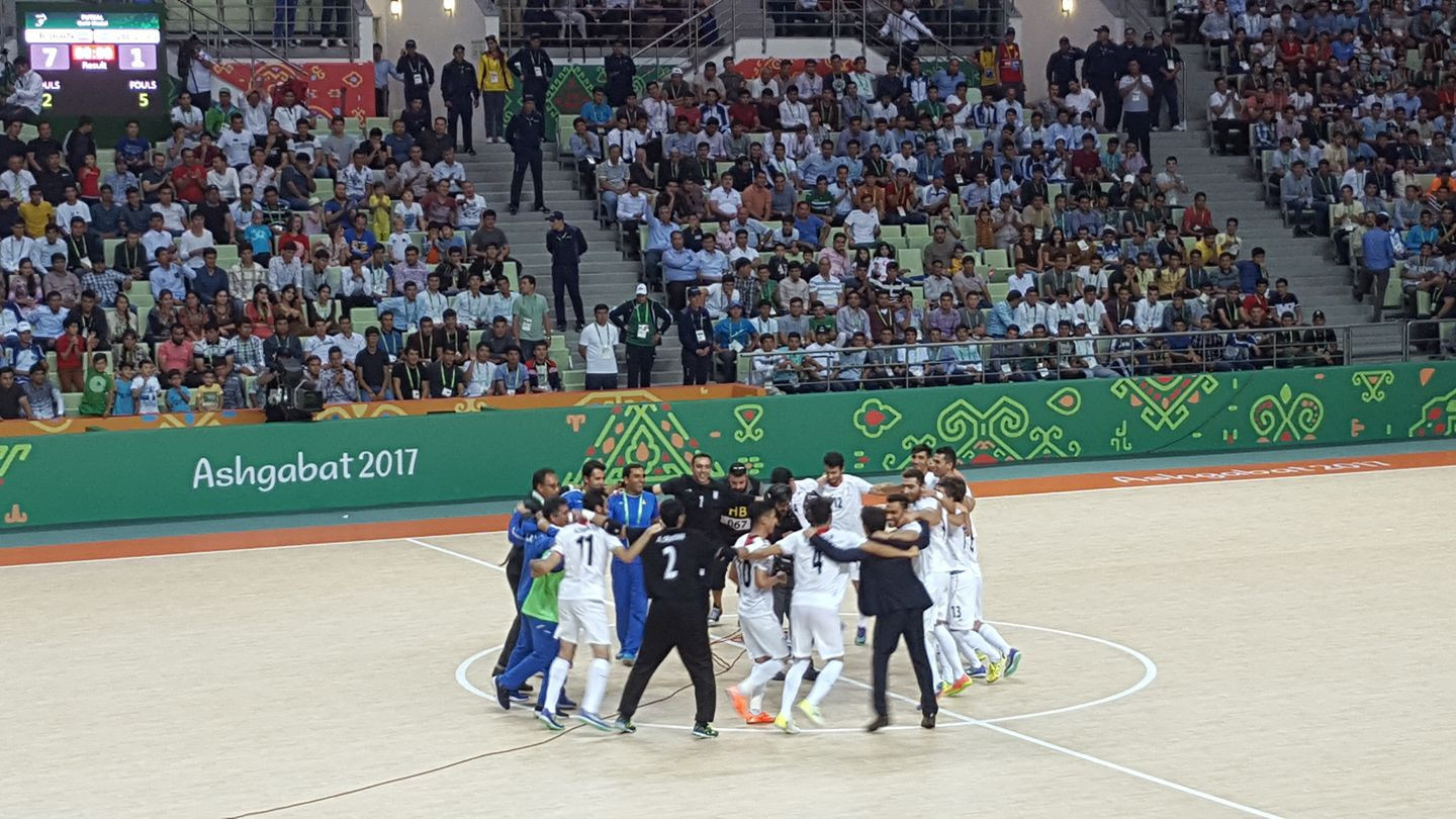 Iran claim fifth successive AIMAG gold medal in men's futsal at Ashgabat 2017
