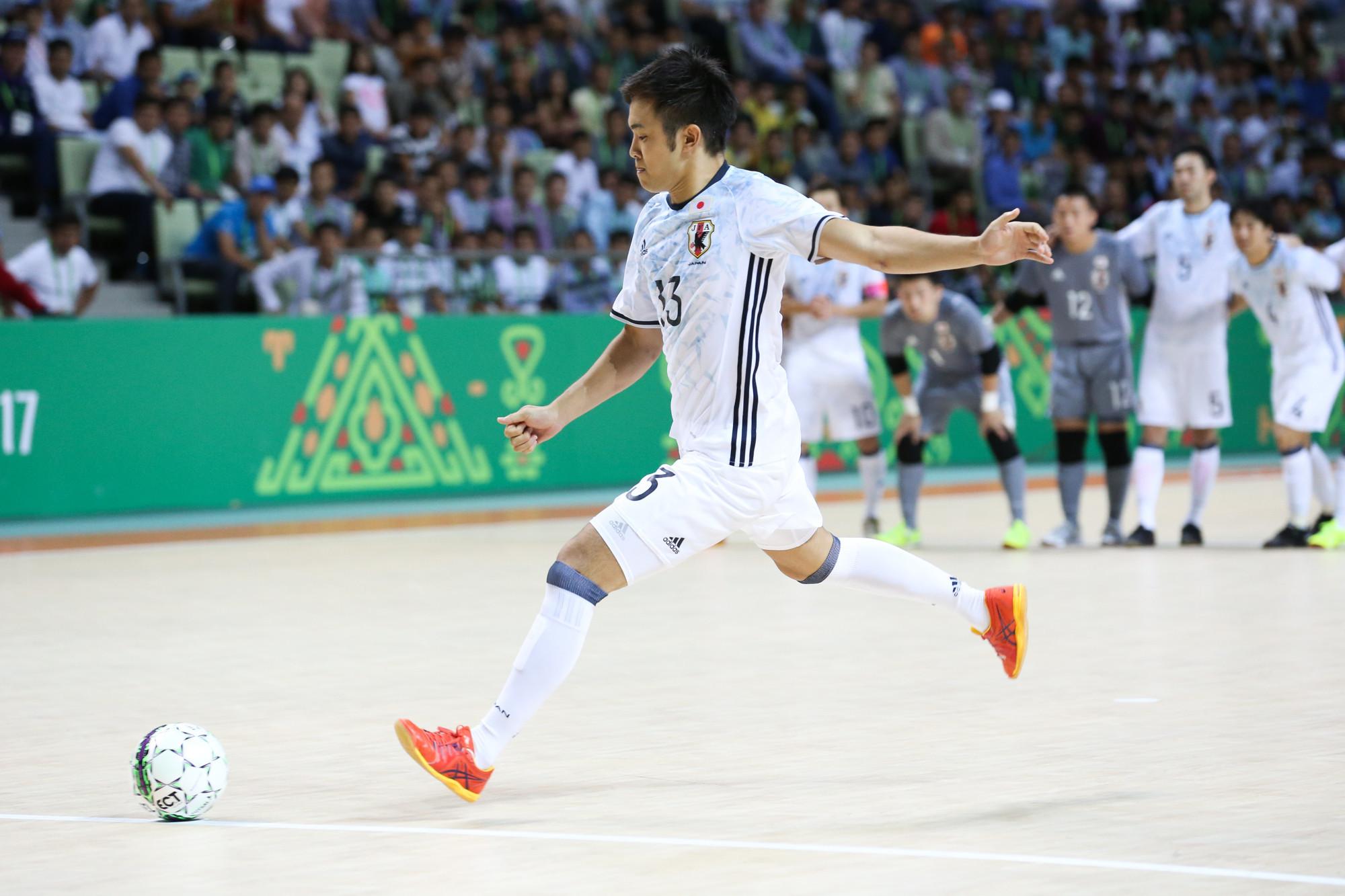 Japan beat Afghanistan on penalties in the bronze medal match ©Ashgabat 2017/Nikita Bassov/Laurel International Management