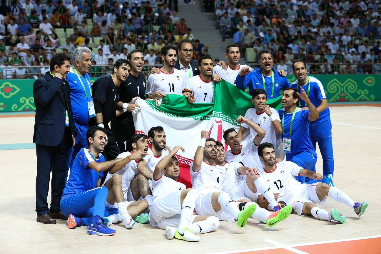 Men's futsal gold for Iran on penultimate day of Ashgabat 2017