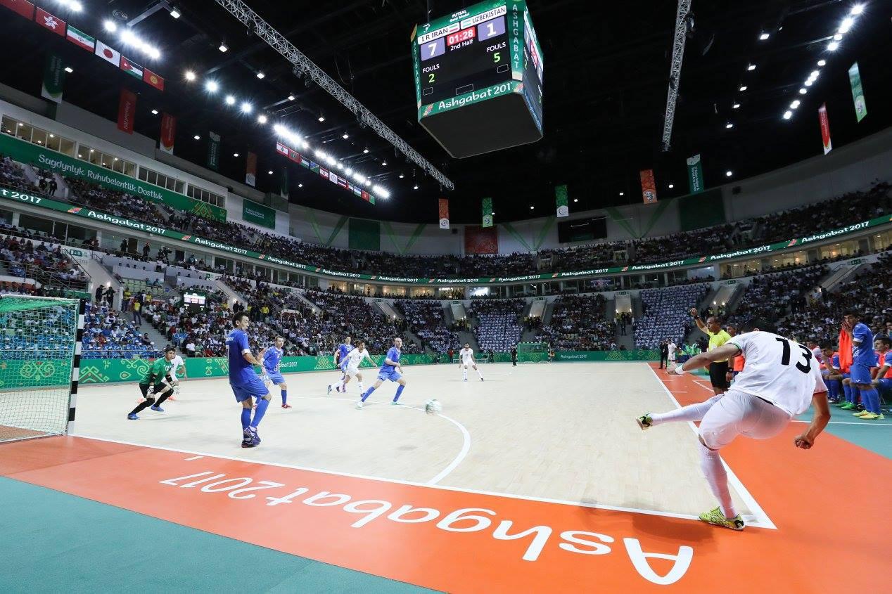 The Iranians thrashed Uzbekistan 7-1 in the final ©Ashgabat 2017/Facebook