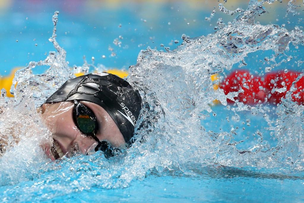 Ledecky smashes women's 800m world record to win fifth gold medal in Kazan