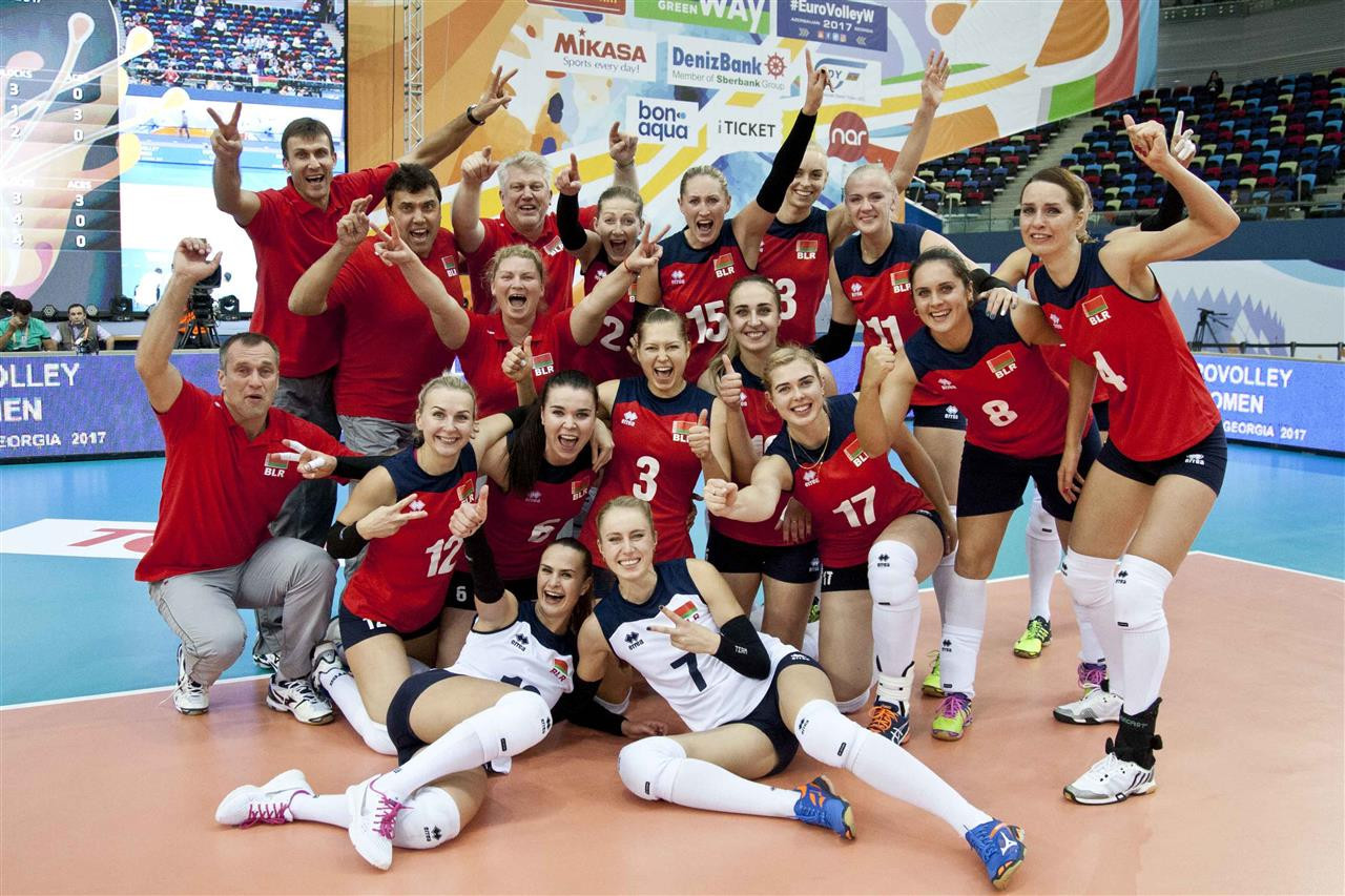 Belarus and The Netherlands reach last eight of Women's European Volleyball Championships