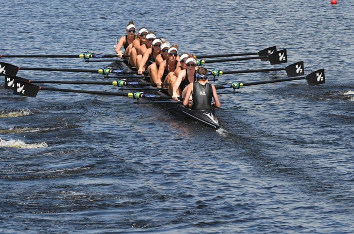 New Zealand's women's eight earn an automatic place in Sunday's final at the World Rowing Championships with a hugely significant win over a home US crew that has not been beaten at world or Olympic level for 11 years ©World Rowing