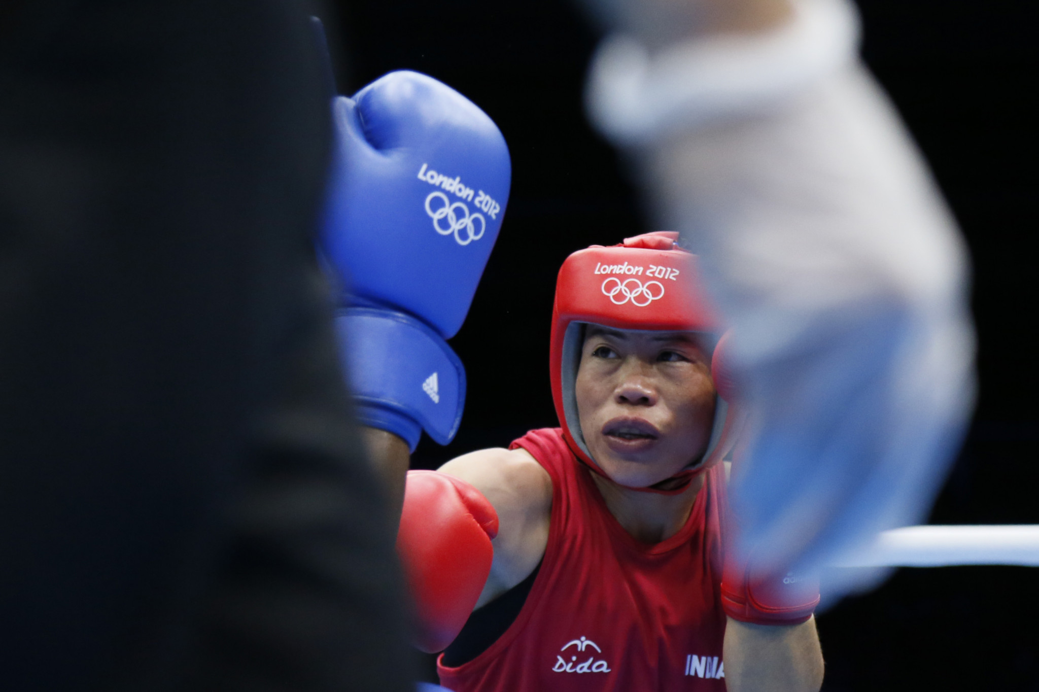 Mary Kom is a five-time world champion and London 2012 Olympic bronze medallist ©Getty Images