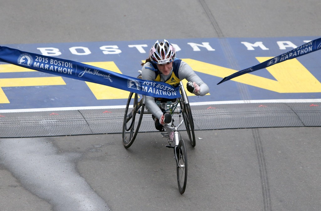 McFadden dedicates third consecutive Boston Marathon victory to eight-year-old victim of 2013 bombing