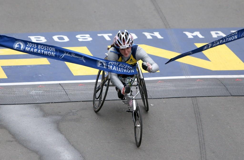 McFadden dedicates third consecutive Boston Marathon victory to eight-year-old victim of 2013 bombing