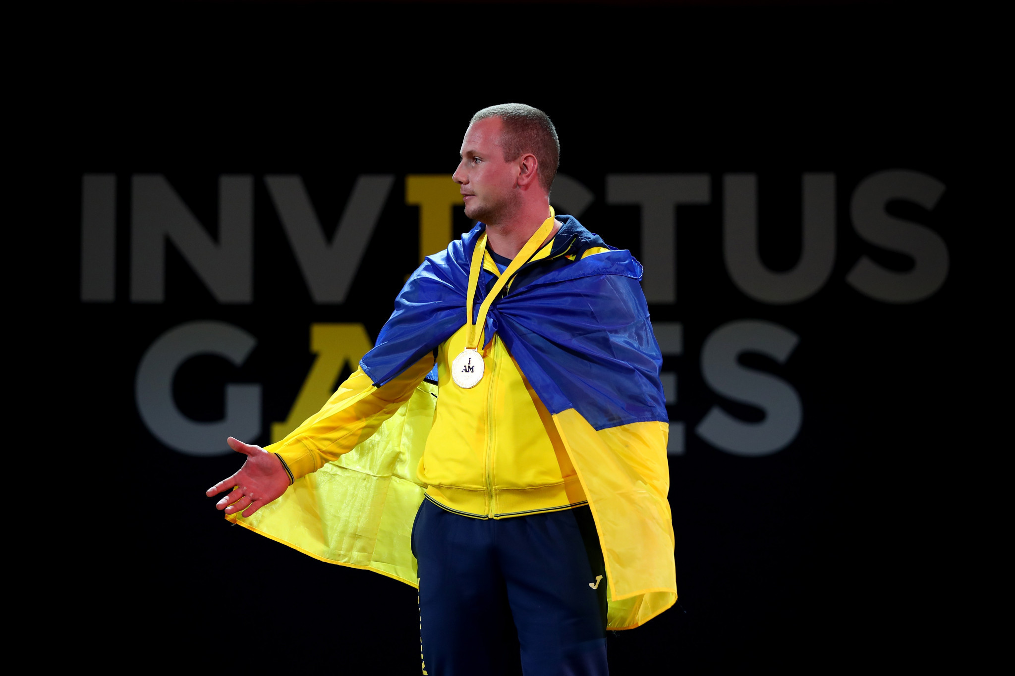 Ukraine and Great Britain claim powerlifting golds as Invictus Games continue