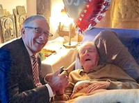 FIL congratulate honorary member Baron Falz-Fein on 105th birthday