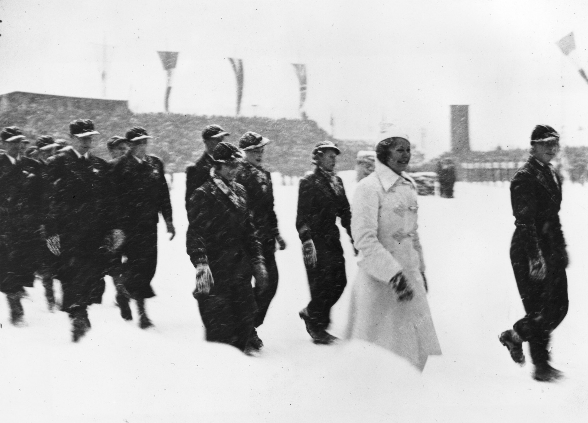 Baron Falz-Fein also participated at the Garmisch-Partenkirchen Winter Olympic Games in 1936 ©Getty Images