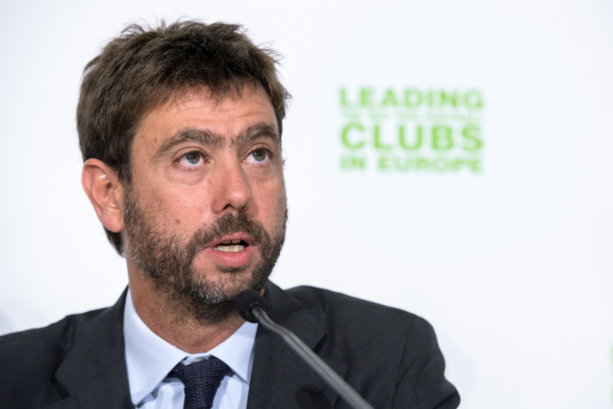 Juventus President Andrea Agnelli has been handed a one-year suspension ©Getty Images
