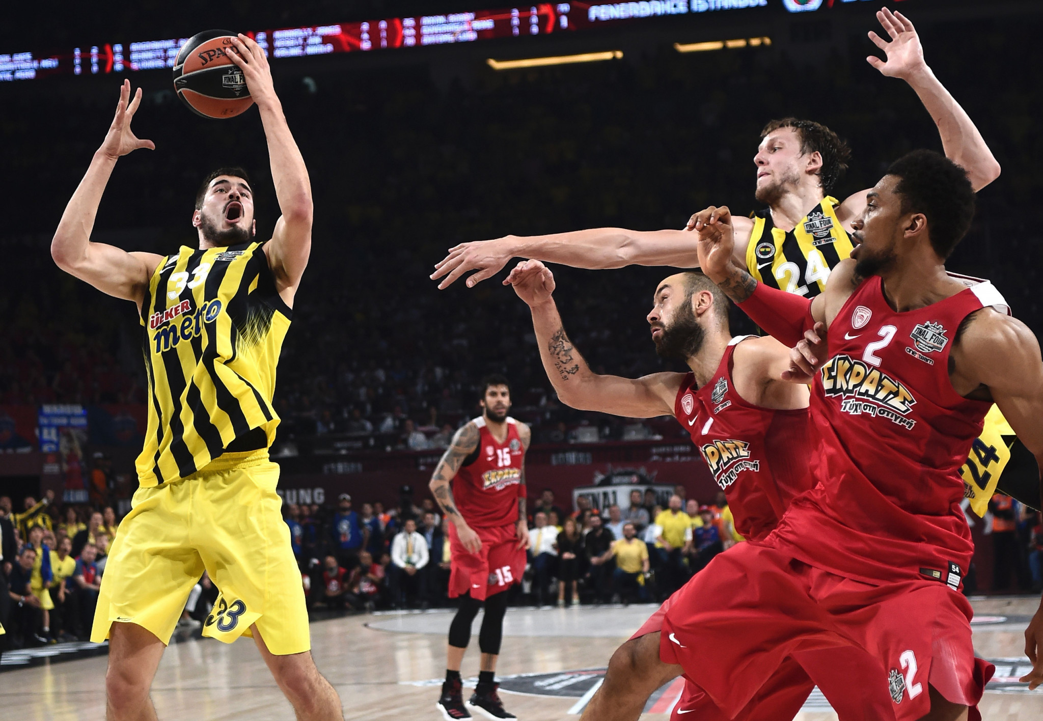Changes to the FIBA calendar have caused clashes with the Euroleague ©FIBA