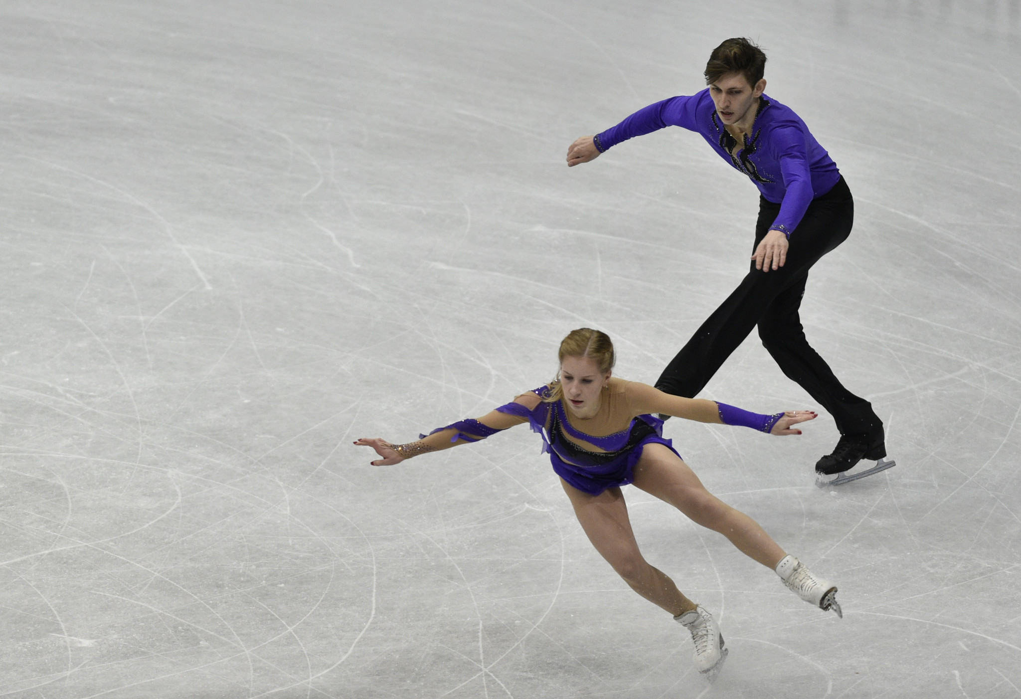 Reigning junior world champions Ekaterina Alexandrovskaya and Harley Windsor will be competing ©Getty Images