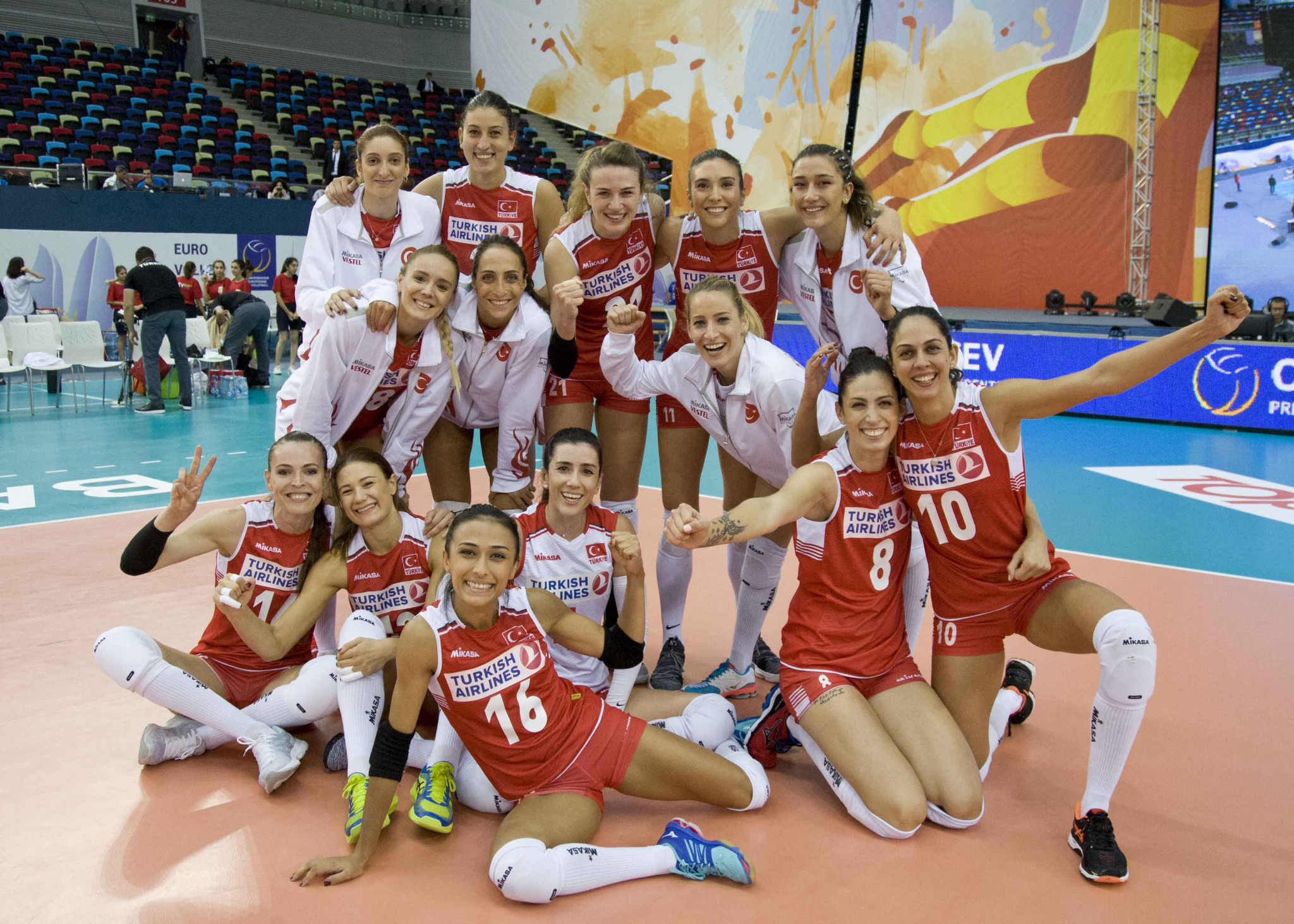 Turkey and Germany through to quarter-finals of Women's European Volleyball Championships