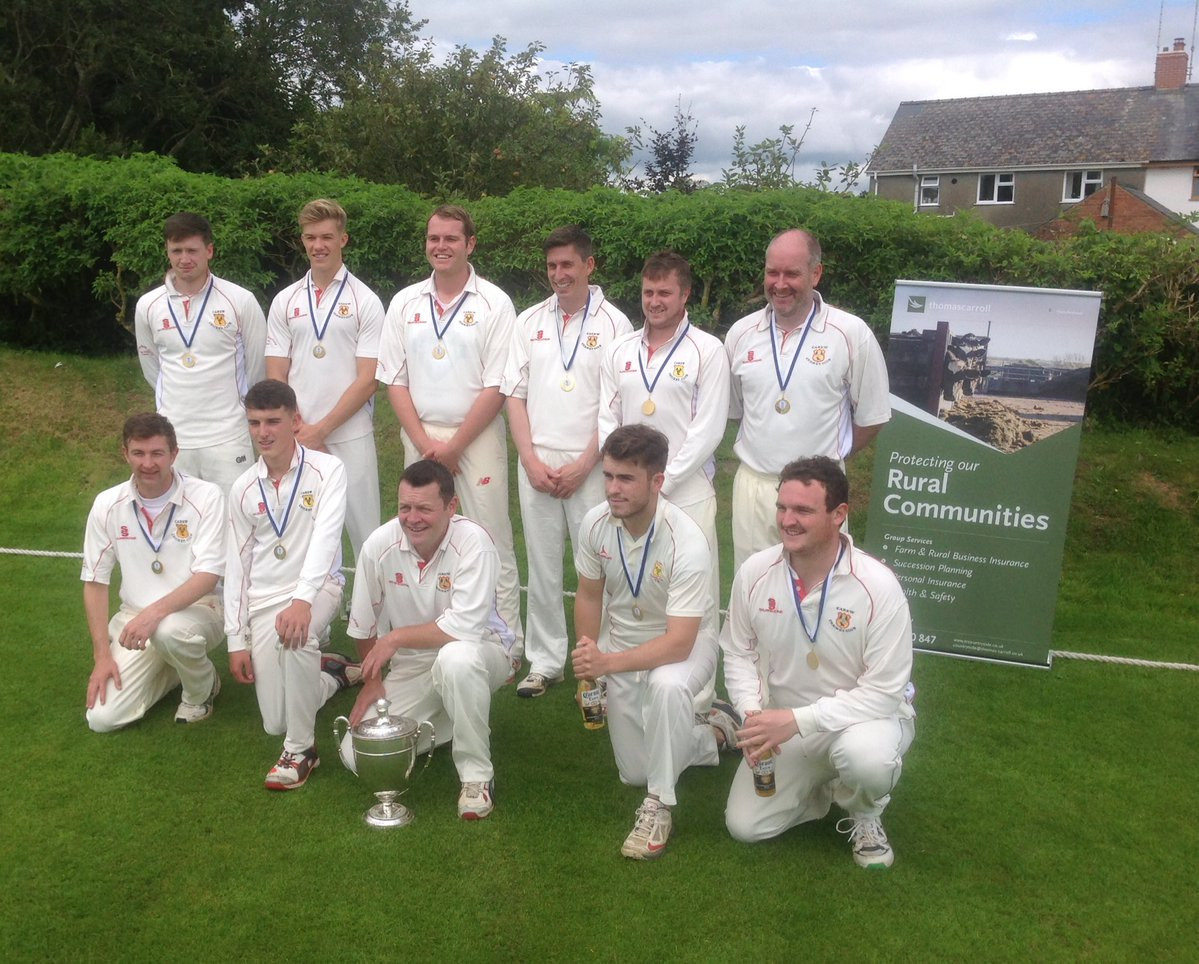 Village cricket has taken a hit through the ignoble behaviour of Pembrokeshire league Carew, whose title-winning victory over rivals Cresselly did not break the rules - but did break the spirit of them ©Twitter
