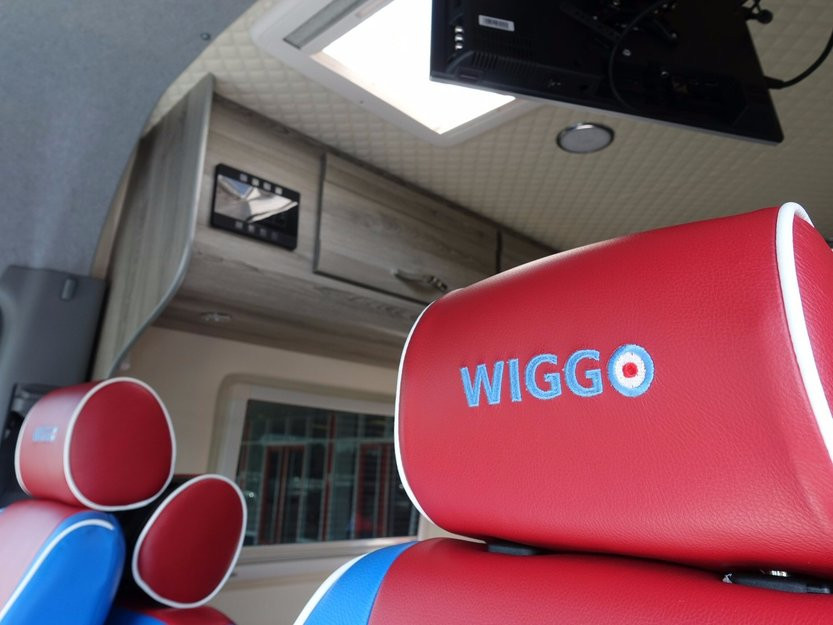 Sir Bradley Wiggins' motorhome even had