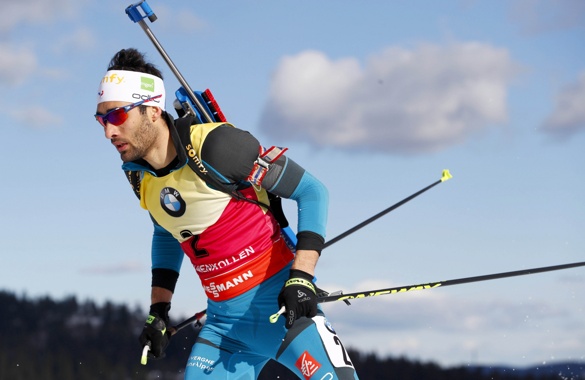 Martin Fourcade has been named as France's flag bearer at the Pyeongchang 2018 Winter Olympic Games ©Getty Images
