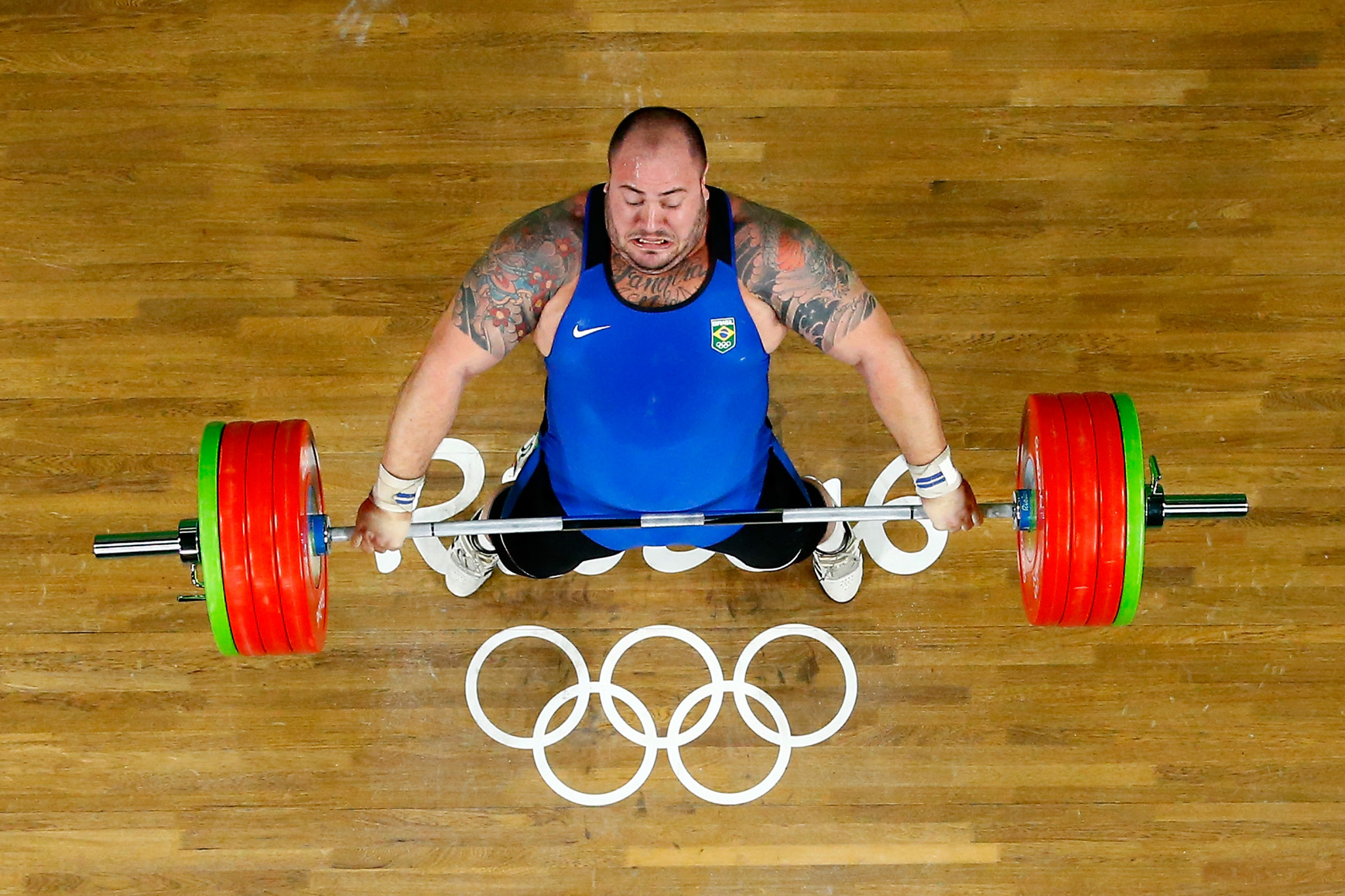 """Reis claims """"ashamed"""" of own Brazilian Weightlifting Federation boss after winning selection row"""