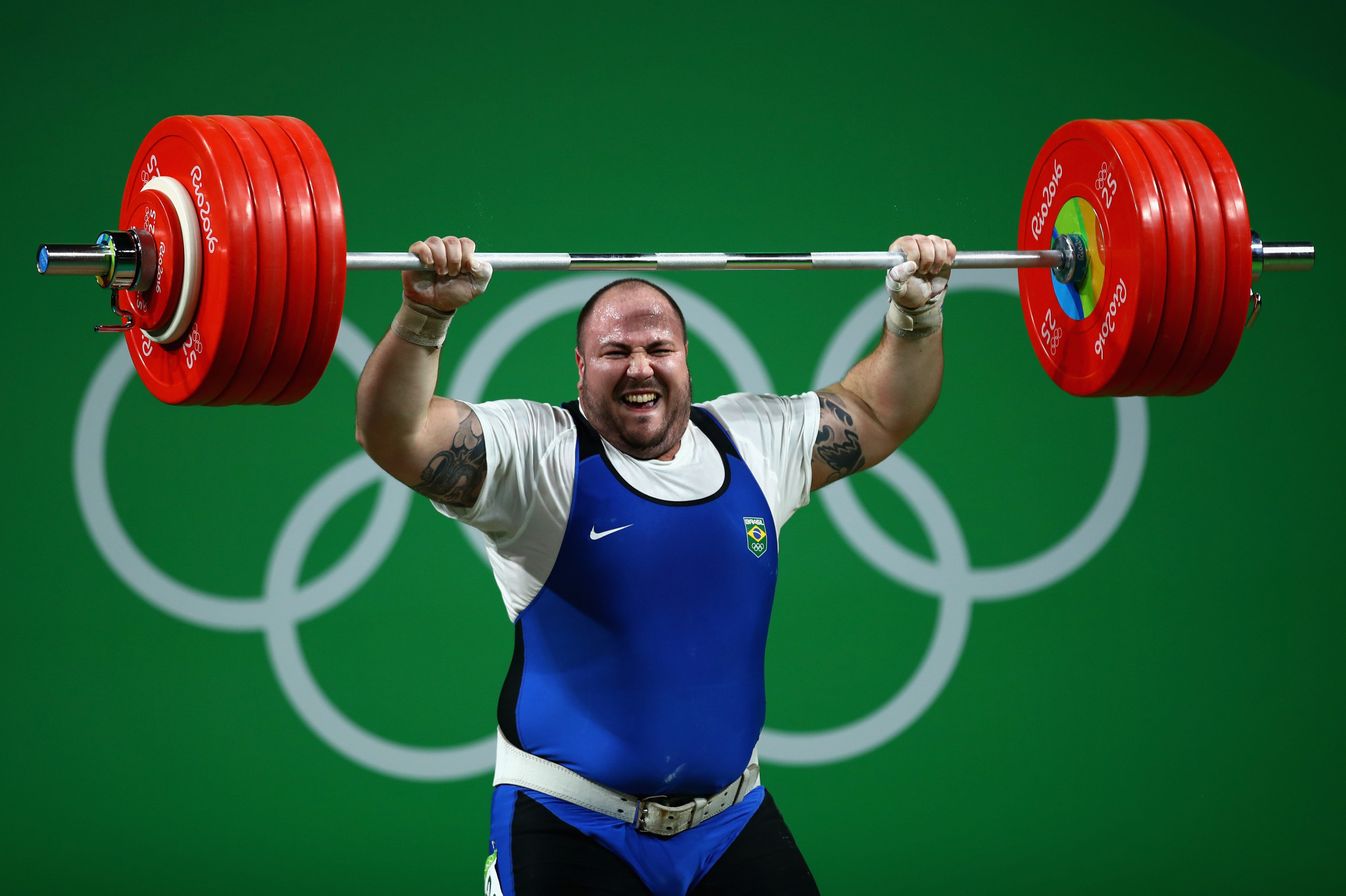 Fernando Reis will be a representative of Brazil at the IWF World Championships in California  ©Getty Images