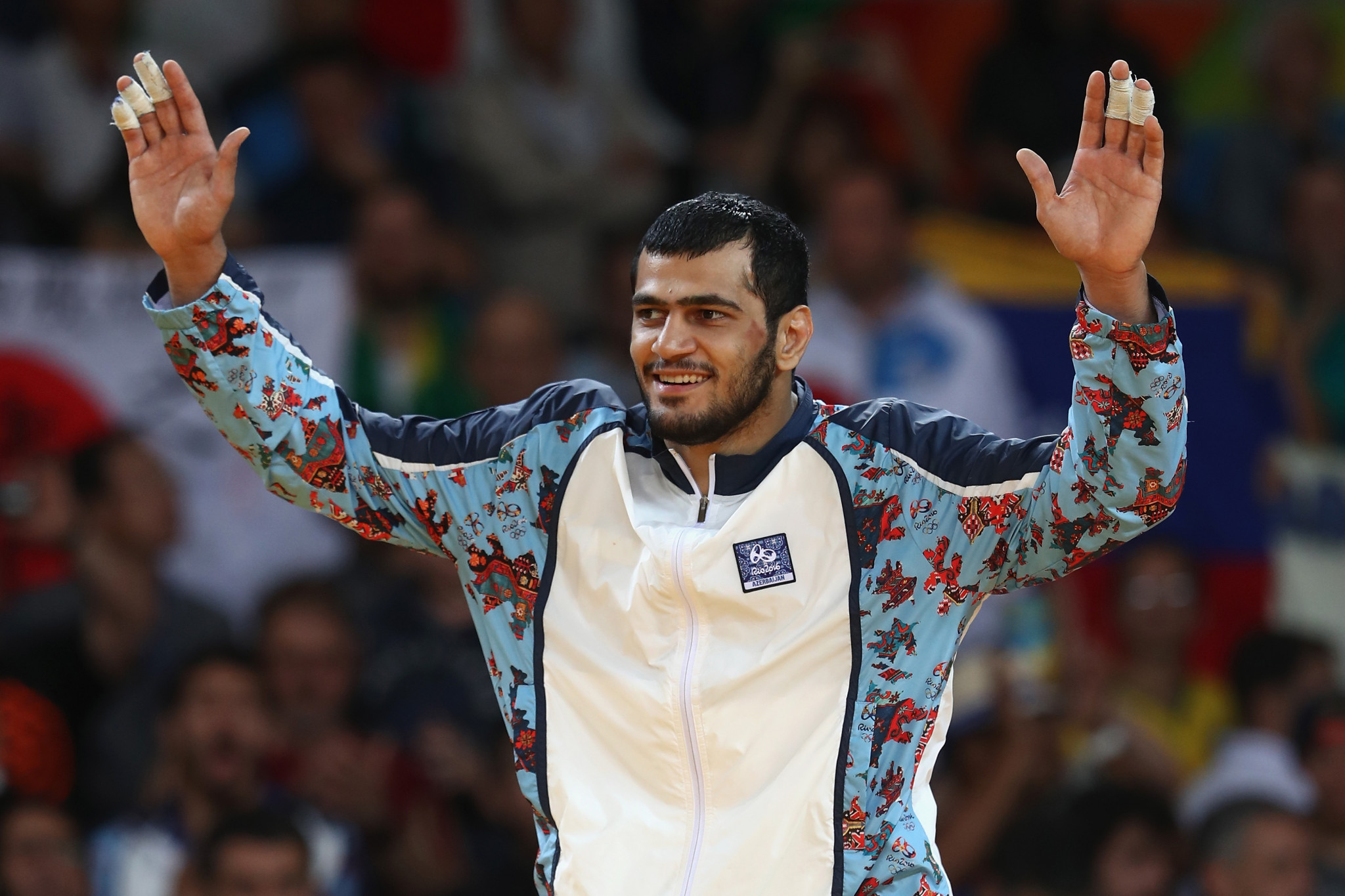 Elmar Gasimov will also be competing in the Croatian capital ©Getty Images