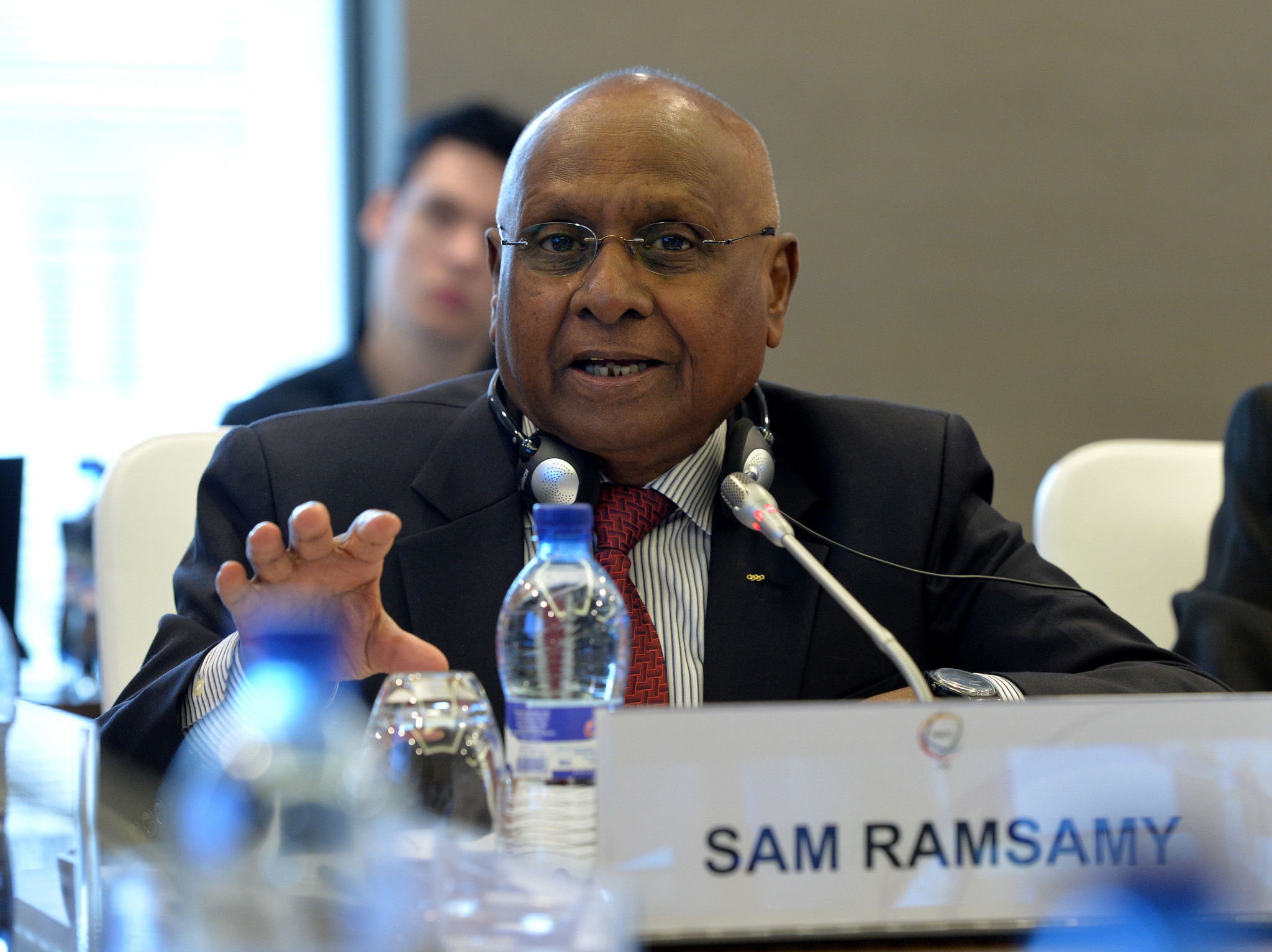 The IOC has defended its appointment of Sam Ramsamy ©Getty Images