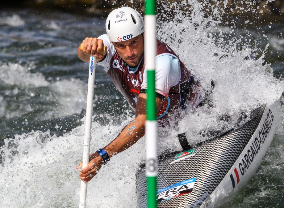 Olympic canoe champion Gargaud-Chanut fastest in front of home French crowd