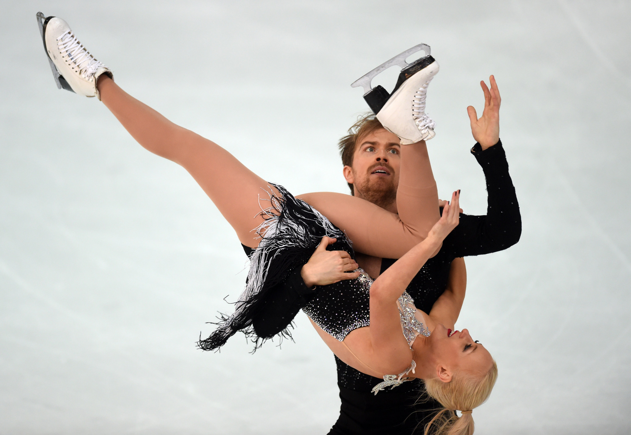 Penny Coomes and Nicholas Buckland scored a personal best today ©Getty Images