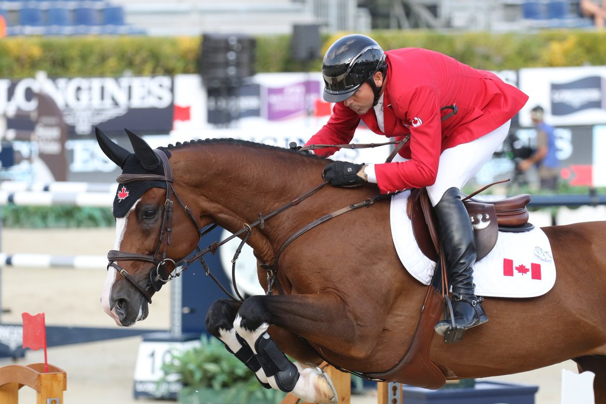 Canada strongest on day one of FEI Nations Cup Jumping final in Barcelona