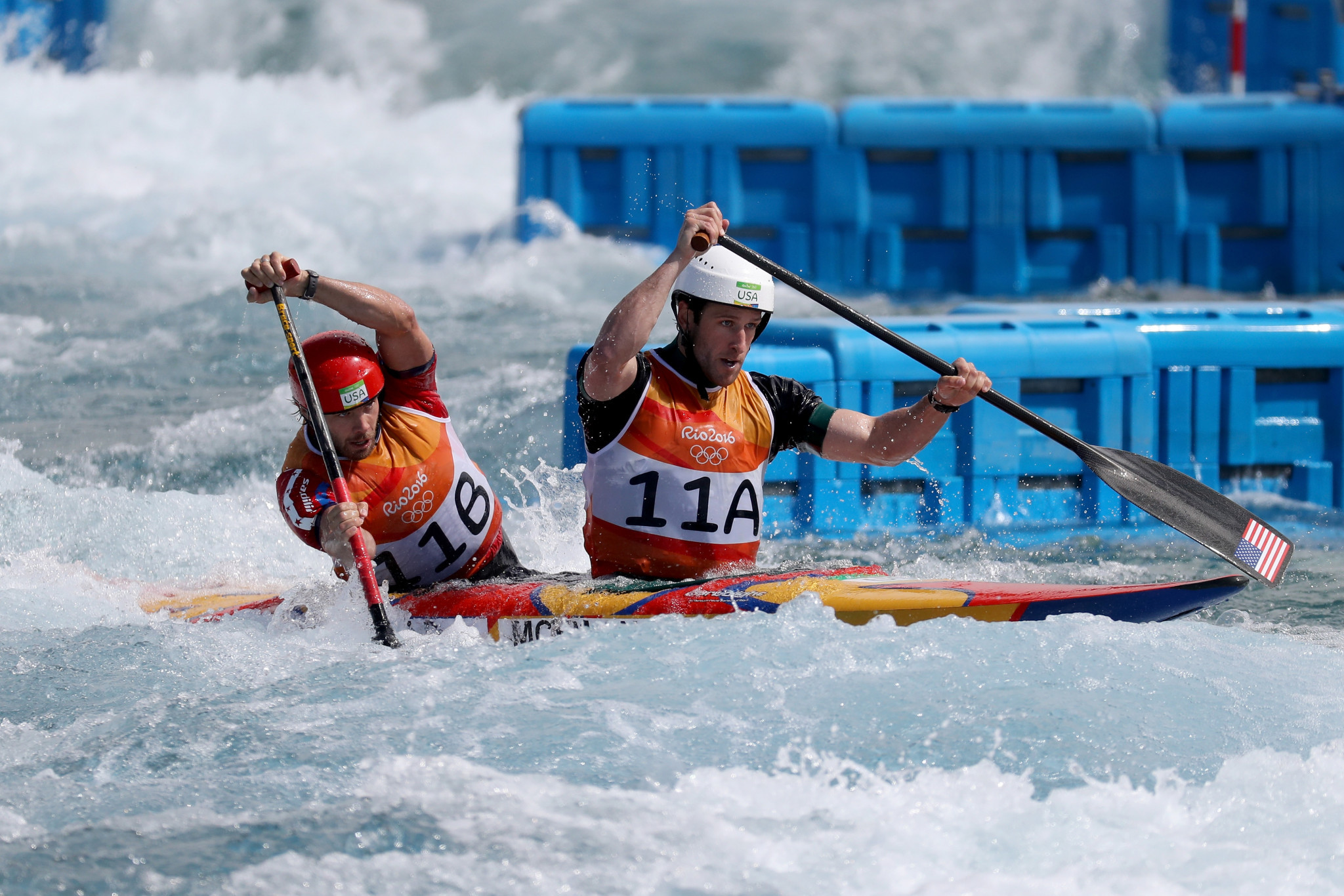 The Rio 2016 canoe slalom venue now offers free swimming in the afternoons for local people ©Getty Images