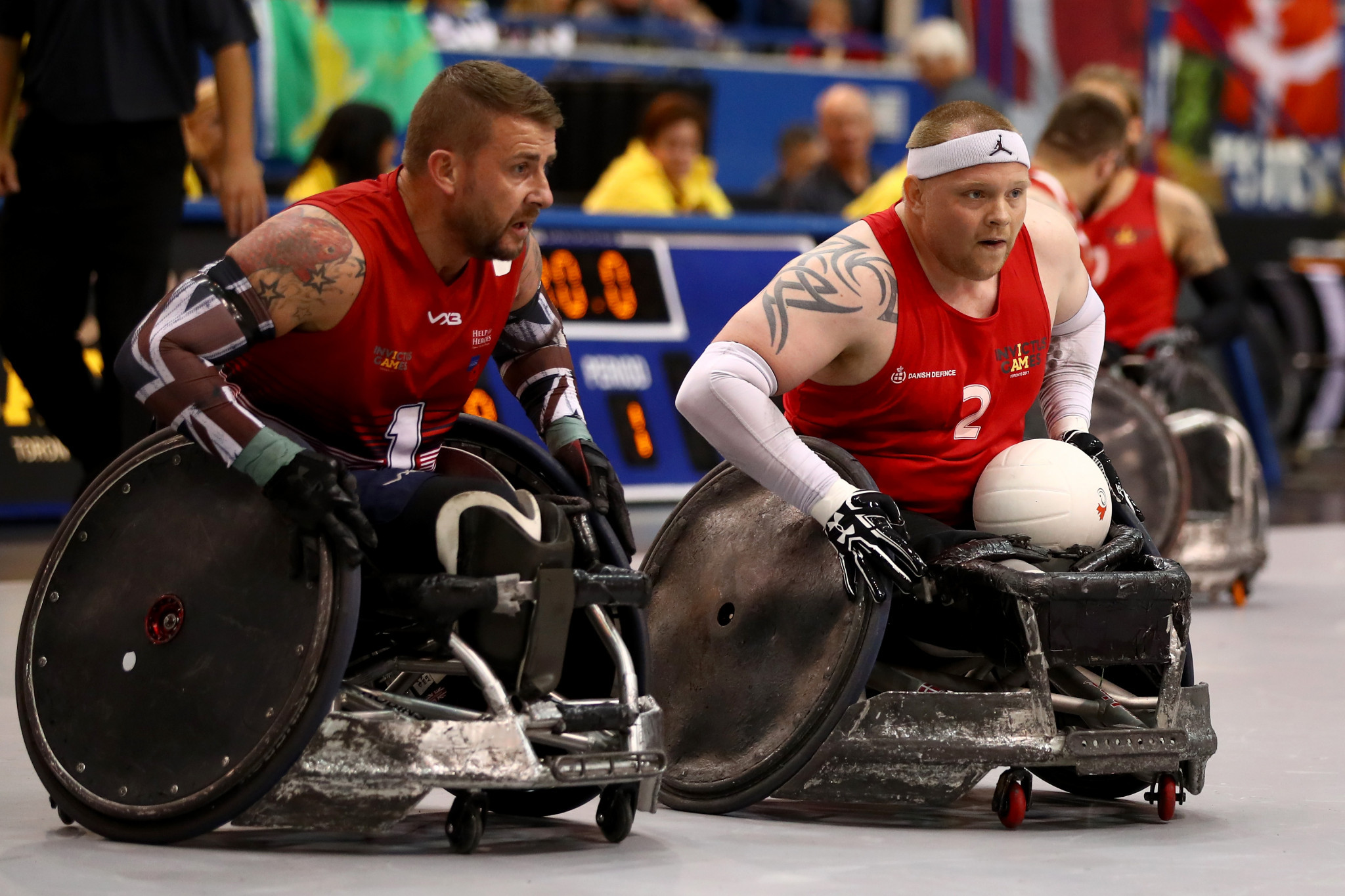 Denmark secure Invictus Games wheelchair rugby title