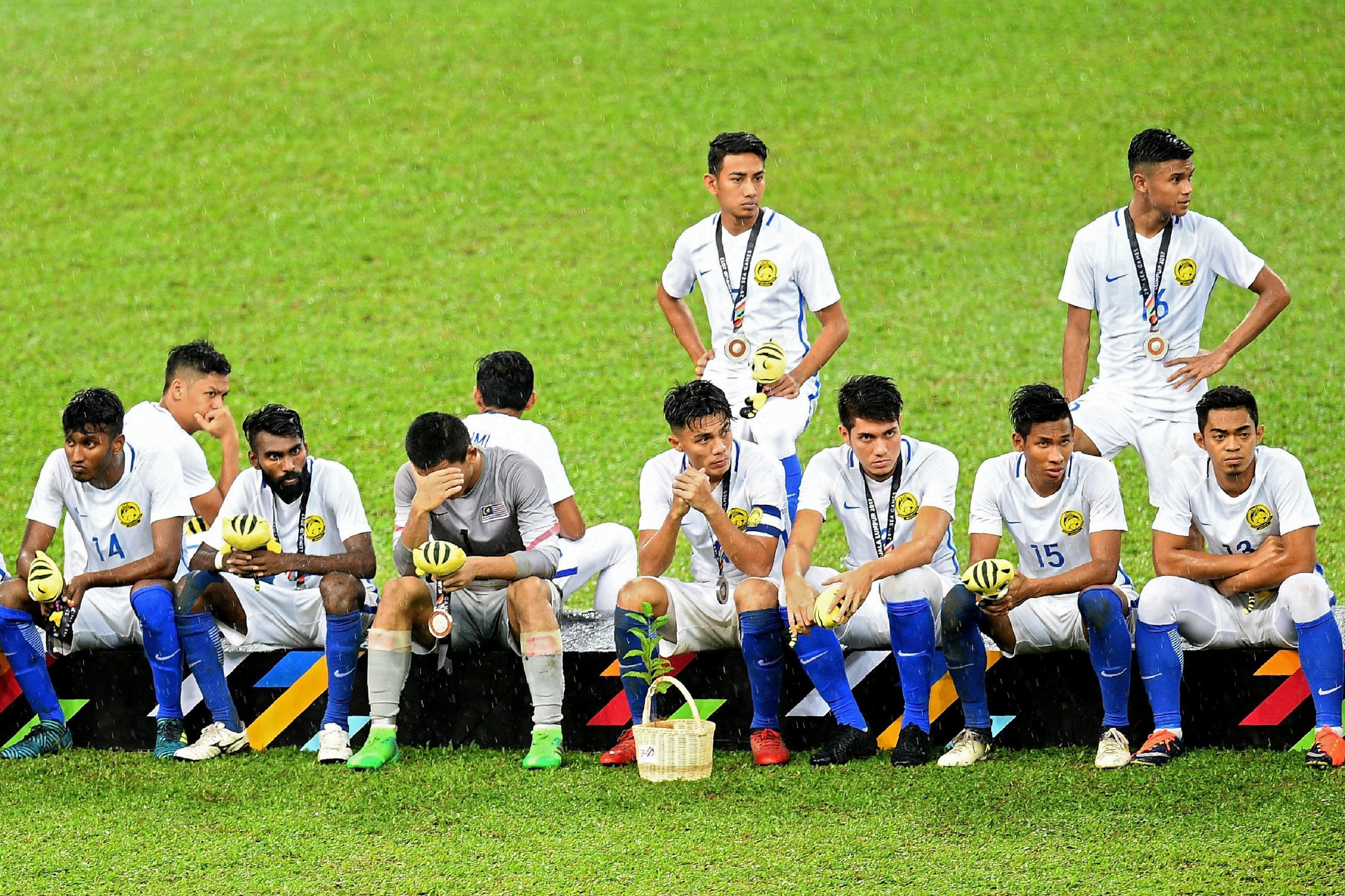 Malaysian footballers are unable to travel to North Korea because of Kuala Lumpur's ban on travel to the latter. ©Getty Images