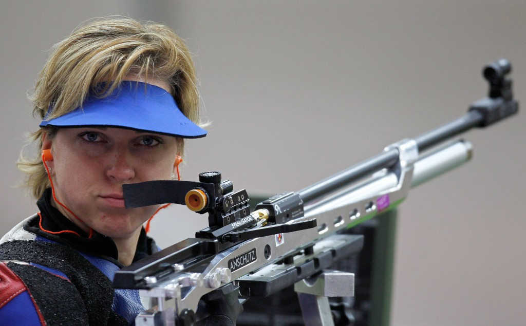 Veronika Vadovicova won the R6 mixed 50m rifle prone SH1 title ©Getty Images