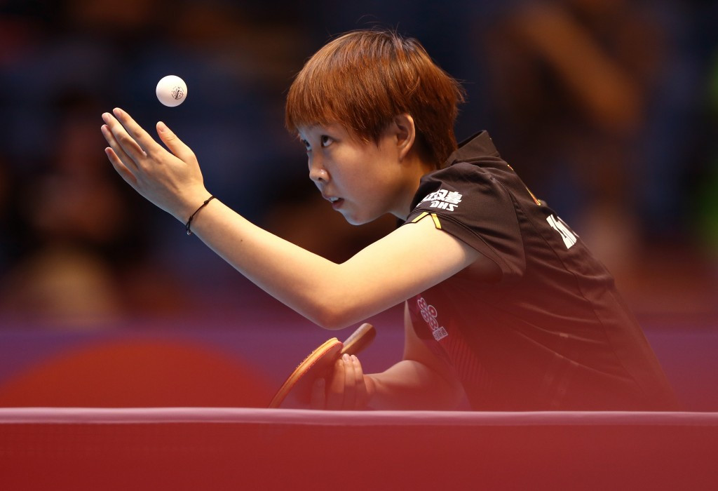 China's Zhu Yuling clinched her second ITTF World Tour gold with victory over world number one Ding Ning