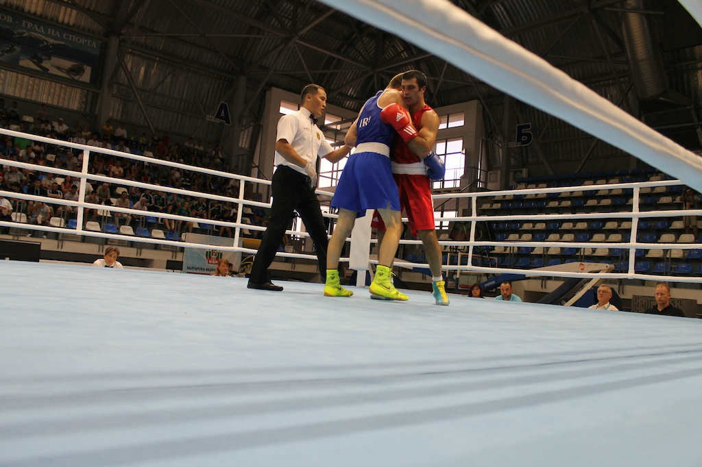 The first rounds of the middleweight and welterweight tournaments were held on day two in Bulgaria