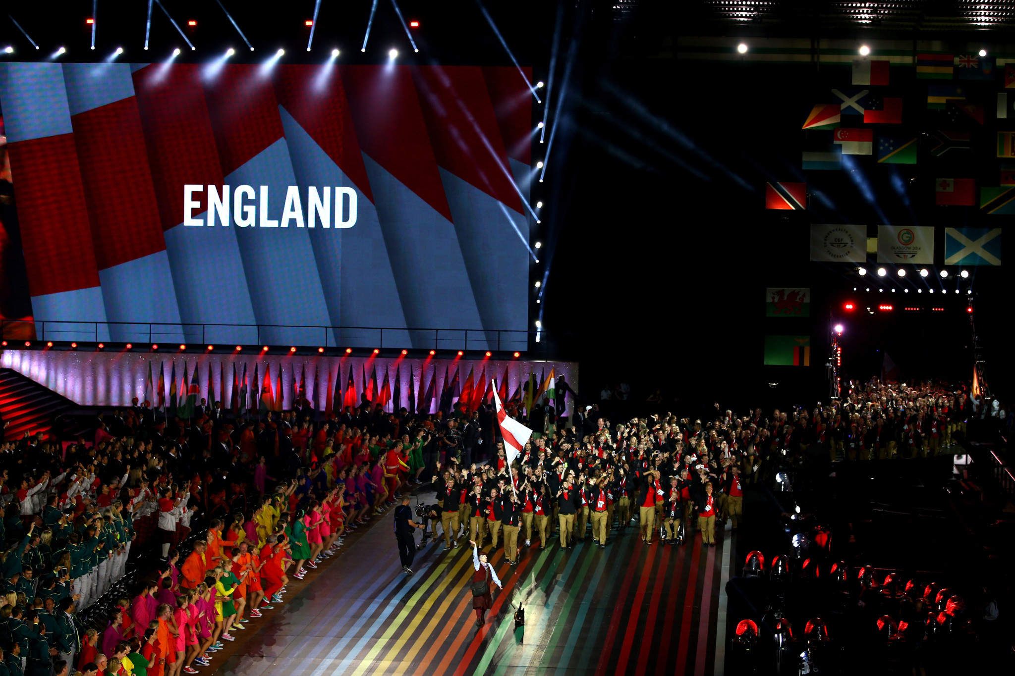 England finished top of the overall medals table at Glasgow 2014 ©Getty Images