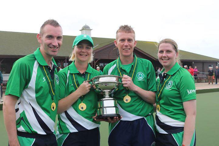 Ireland lift overall crown at European Bowls Team Championships