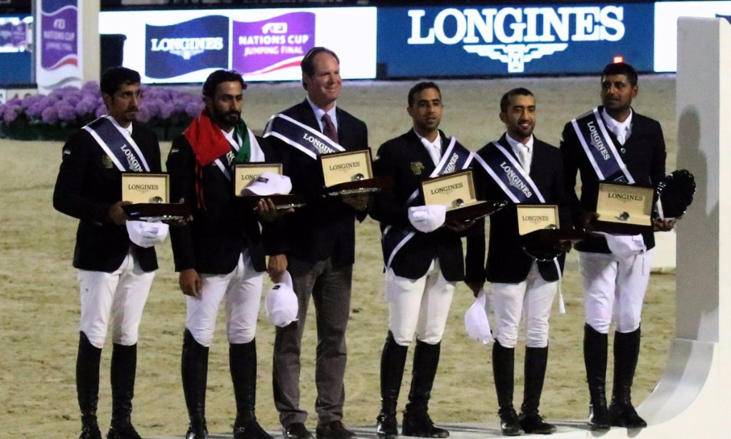 UAE win consolation prize at FEI Nations Cup Jumping final in Barcelona