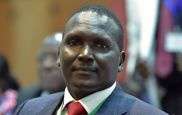 Paul Tergat was elected chairman of the National Olympic Committee of Kenya today ©Getty Images