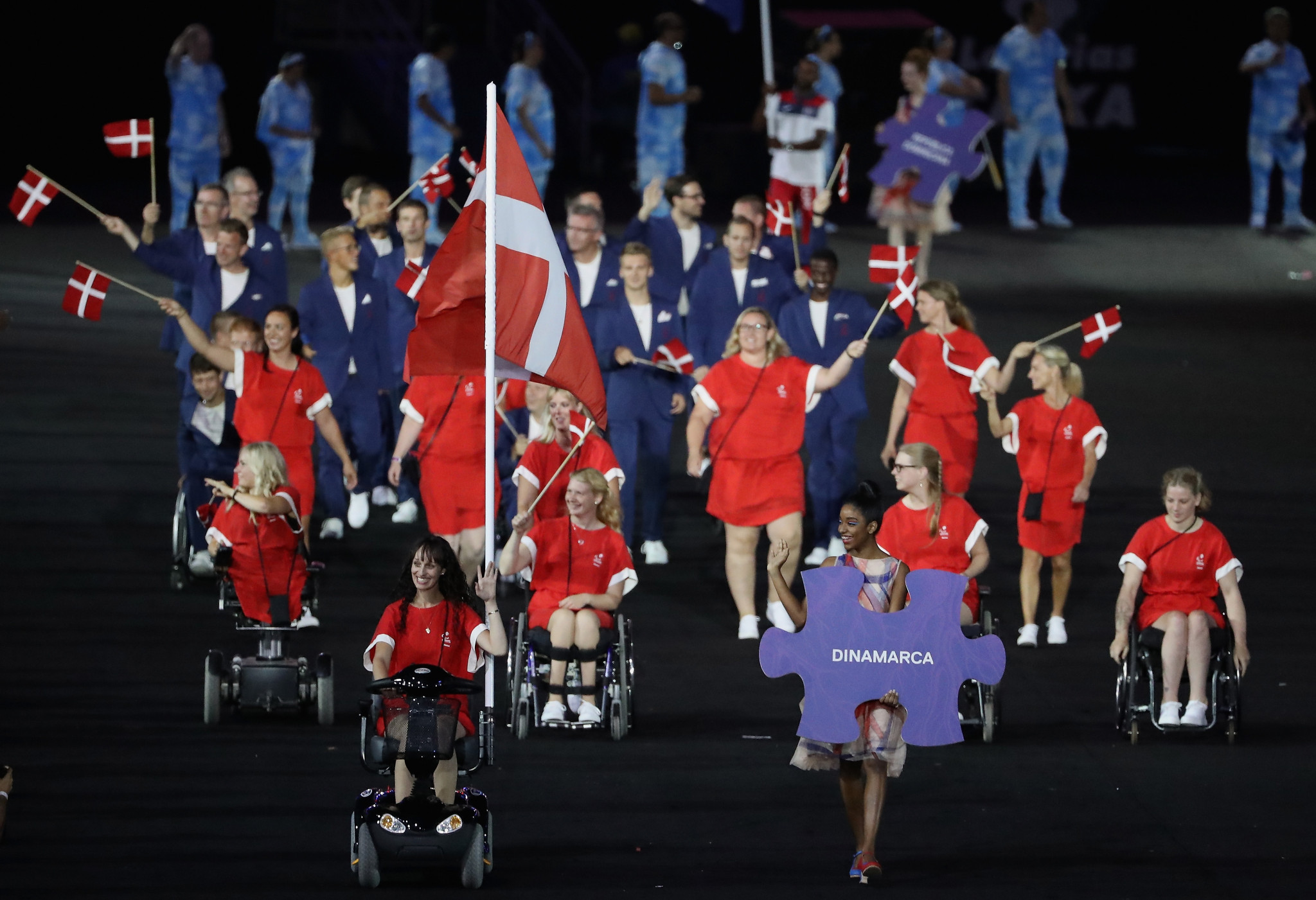 Denmark's future Paralympic preparations will now come under the guidance of National Olympic Committee and Sports Confederation of Denmark ©Getty Images