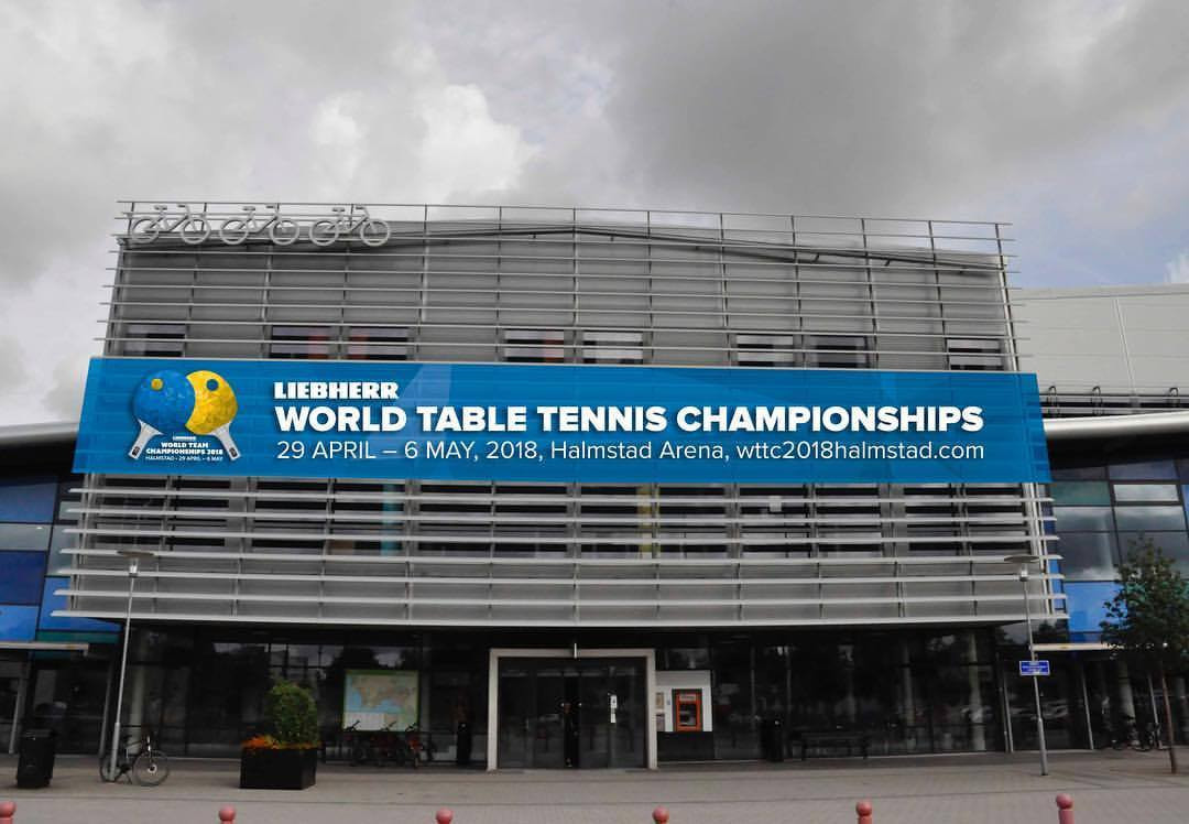 The Halmstad Arena will host the Liebherr 2018 World Team Table Tennis Championships ©Halmstad 2018