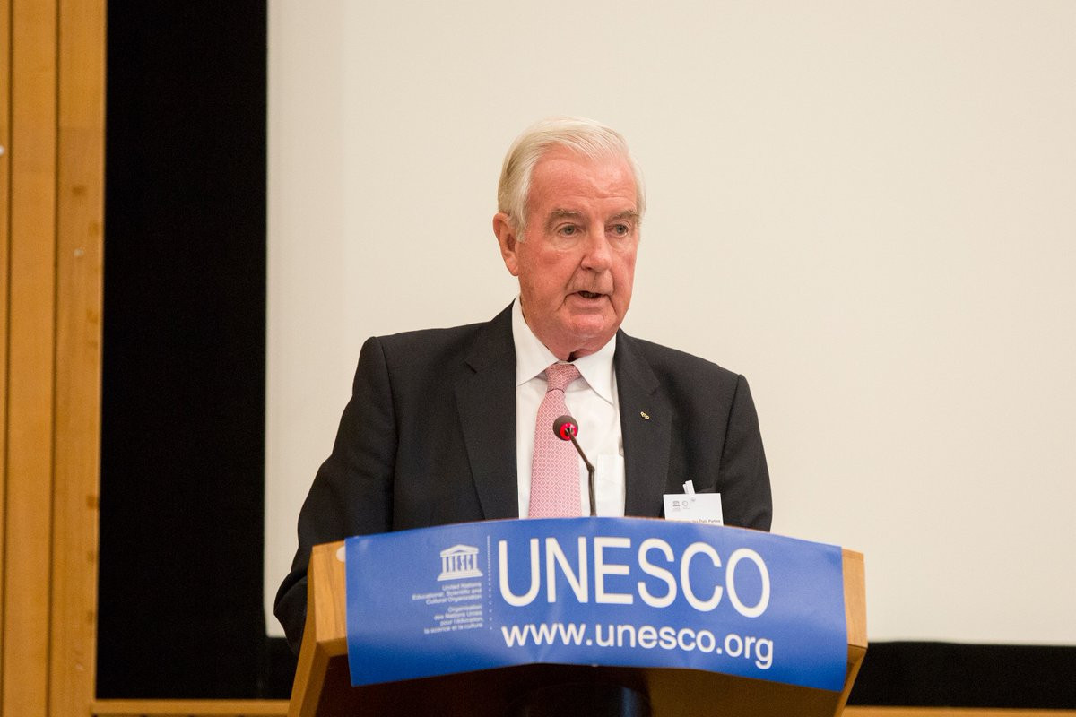 World Anti-Doping Agency President Sir Craig Reedie welcomed the news that Tanzania have ratified the UNESCO Convention against Doping in Sport ©Twitter