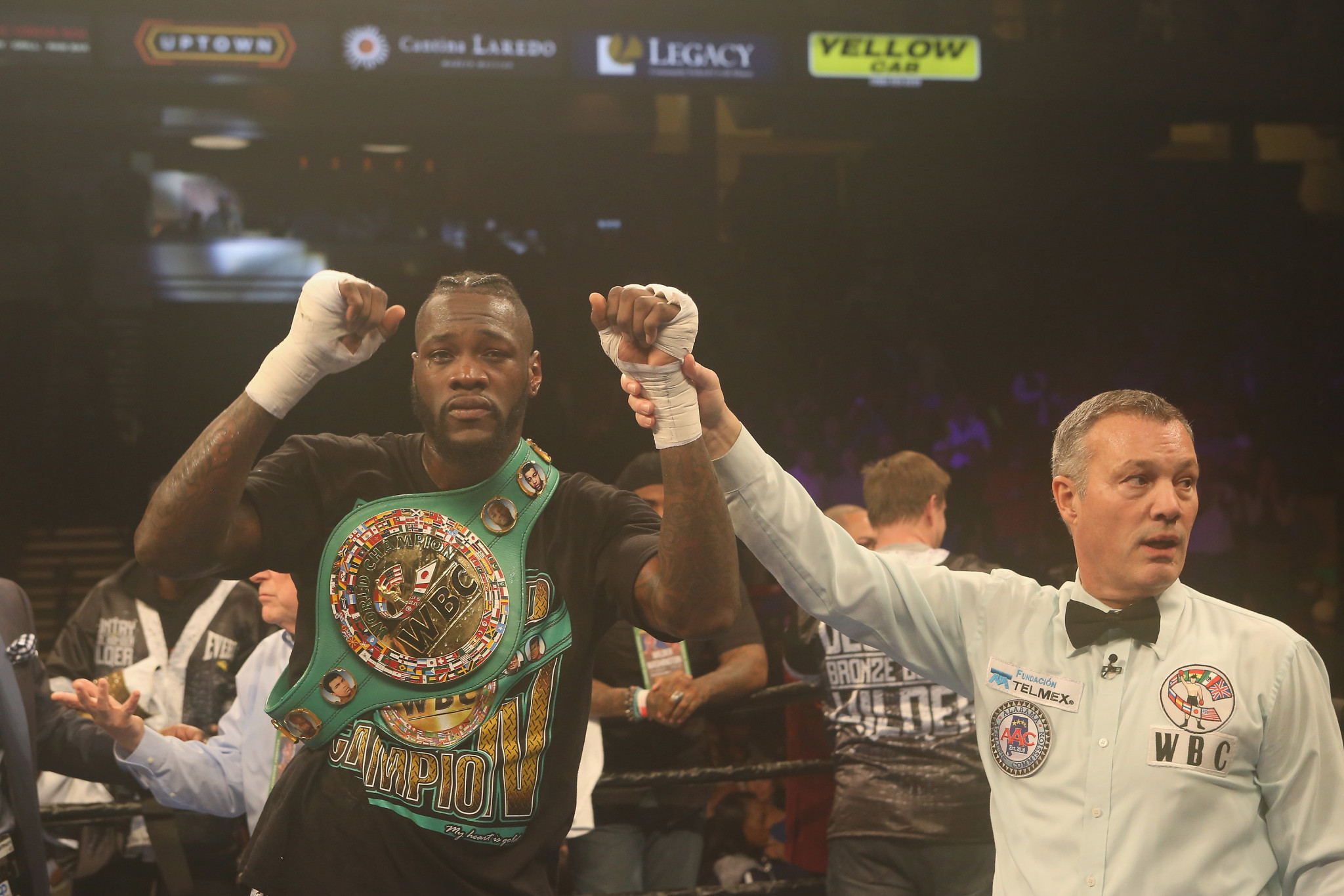 Deontay Wilder has missed major fights before due to opponents failing drug tests ©Getty Images