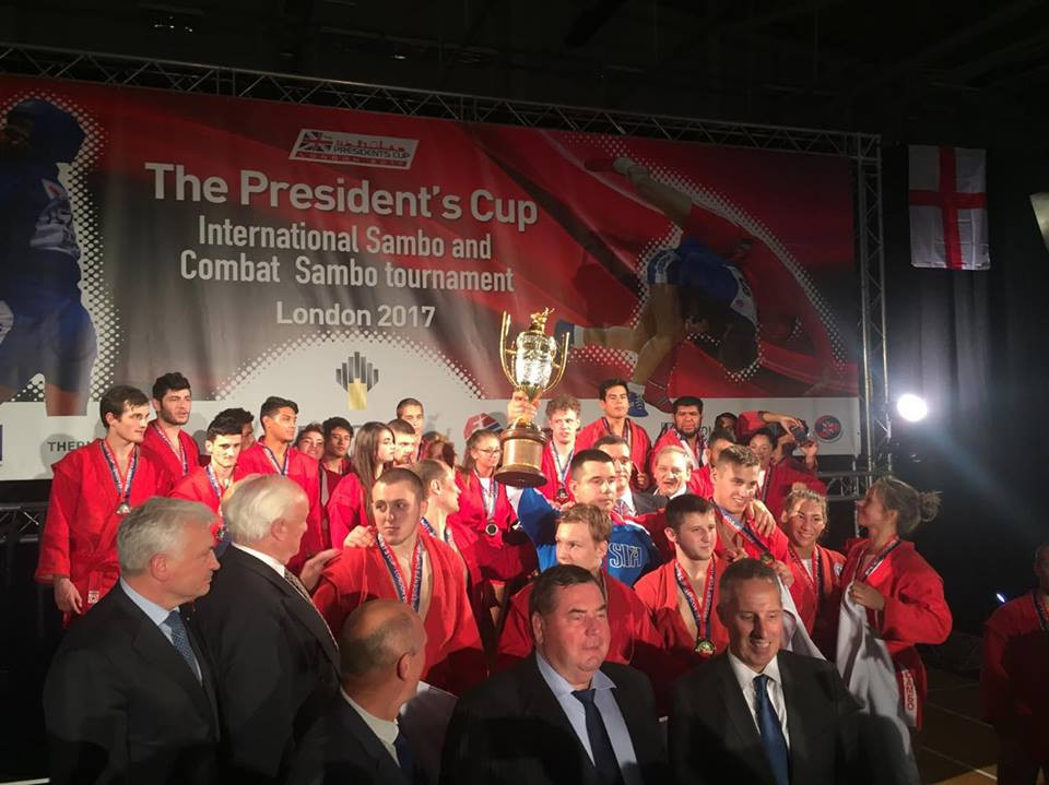 Russia won their fourth consecutive FIAS President's Cup in London today ©ITG