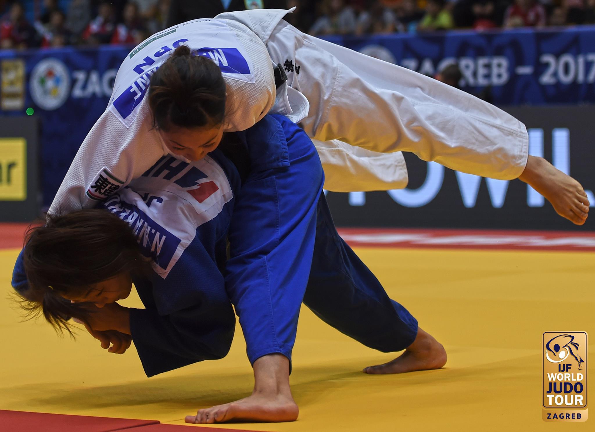 Nabekura beats team-mate to gold at IJF Grand Prix in Zagreb