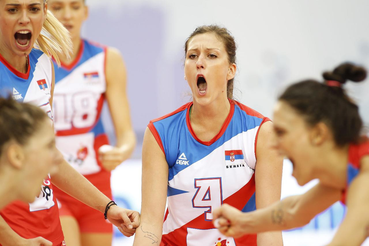Serbia and The Netherlands to meet in Women's European Volleyball Championships final