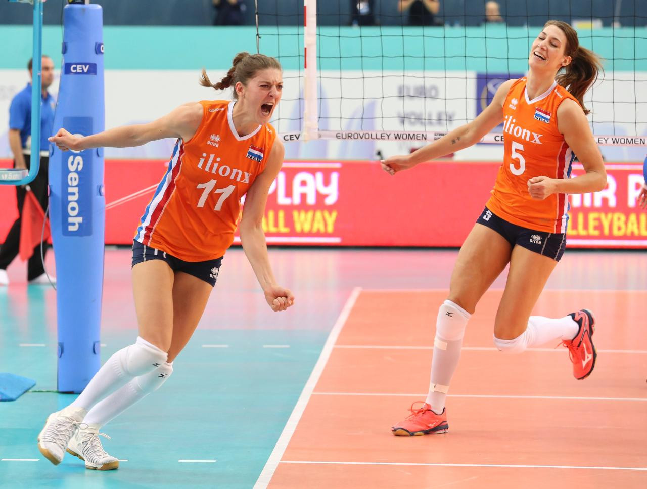The Netherlands beat hosts Azerbaijan to reach the gold medal match ©CEV