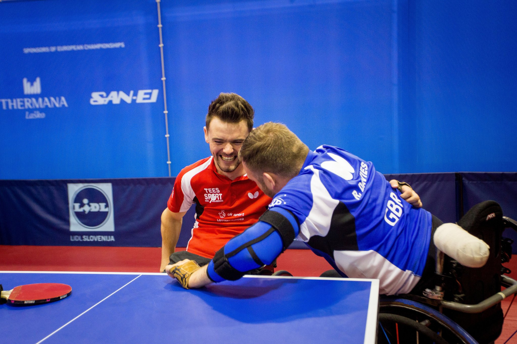 Davies beats two compatriots to European Para-Table Tennis Championships gold