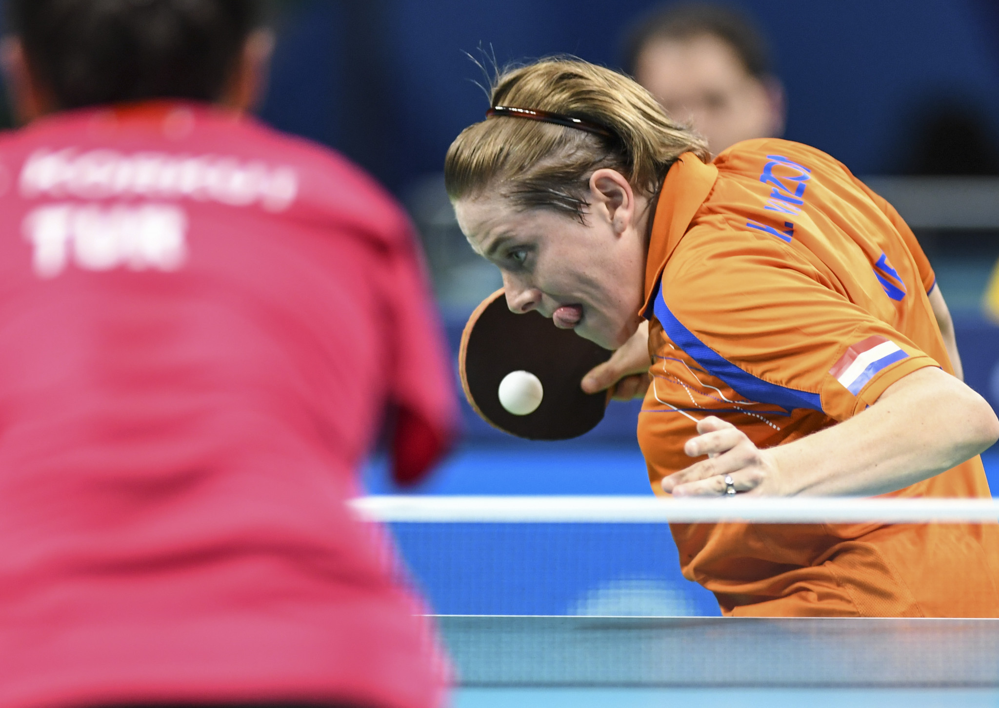 Another Paralympic champion, Kelly Van Zon of The Netherlands, was knocked out in the semi-finals ©Getty Images