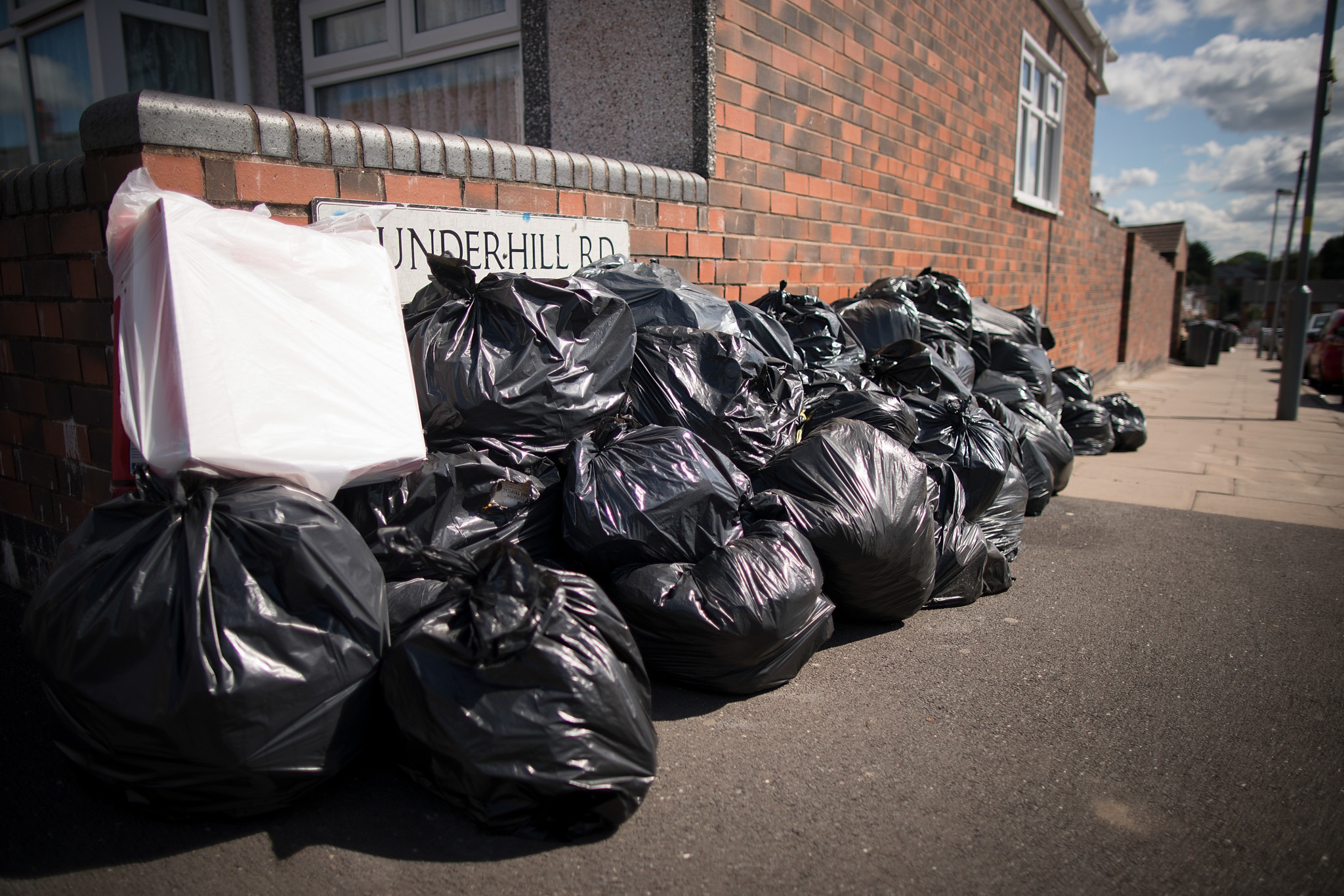 Birmingham City Council have been involved in a dispute with dustbin workers in recent months ©Getty Images